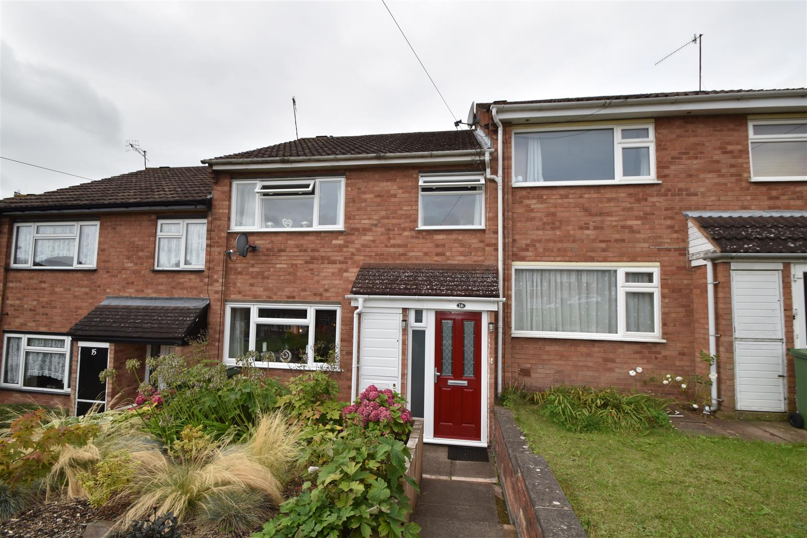 3 Bedrooms Terraced House for sale in Keble Close, Worcester
